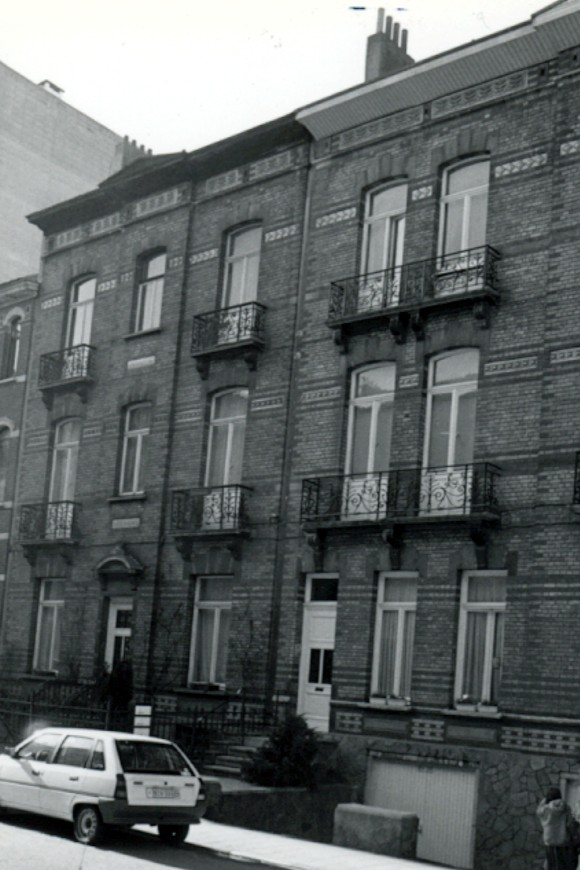 Avenue Georges Petre 13 et 15 (photo 1993-1995).