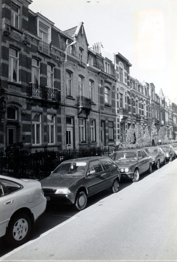 Avenue Georges Petre 25 à 43 (photo 1993-1995).