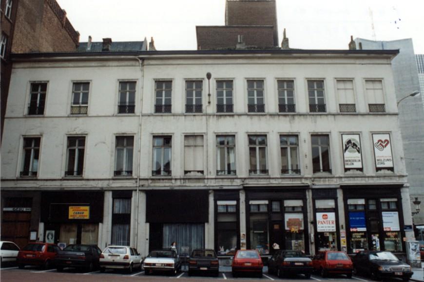 Chaussée de Haecht 2, 4, 6 et rue Royale 169-173 (photo 1993-1995).
