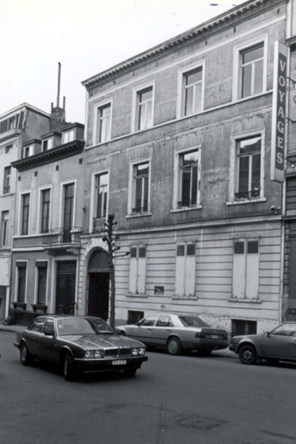 Chaussée de Haecht 31 (photo 1993-1995).