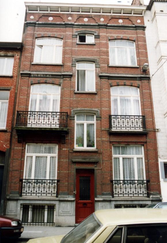 Rue Joseph Dekeyn 54 (photo 1993-1995).