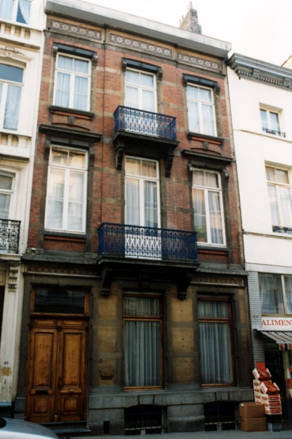 Rue de la Limite 43 (photo 1993-1995).