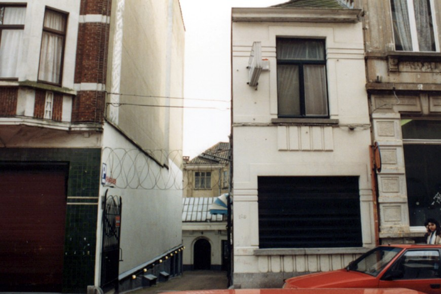 Rue de la Limite 118, imprimerie Charlier (photo 1993-1995).