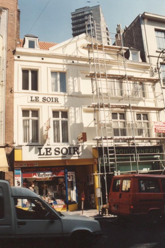 Chaussée de Louvain 17-19 (photo 1993-1995).