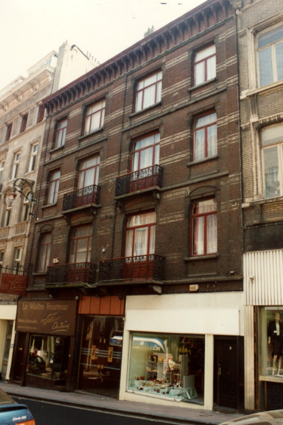 Chaussée de Louvain 20-28, Cabaret Claridge (photo 1993-1995).