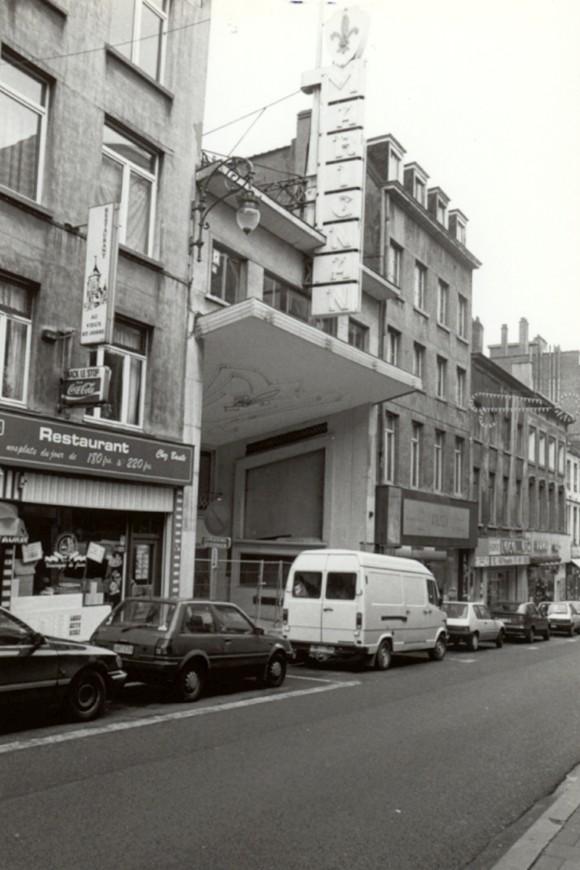 Chaussée de Louvain 33, anc. cinéma Marignan (photo 1993-1995).