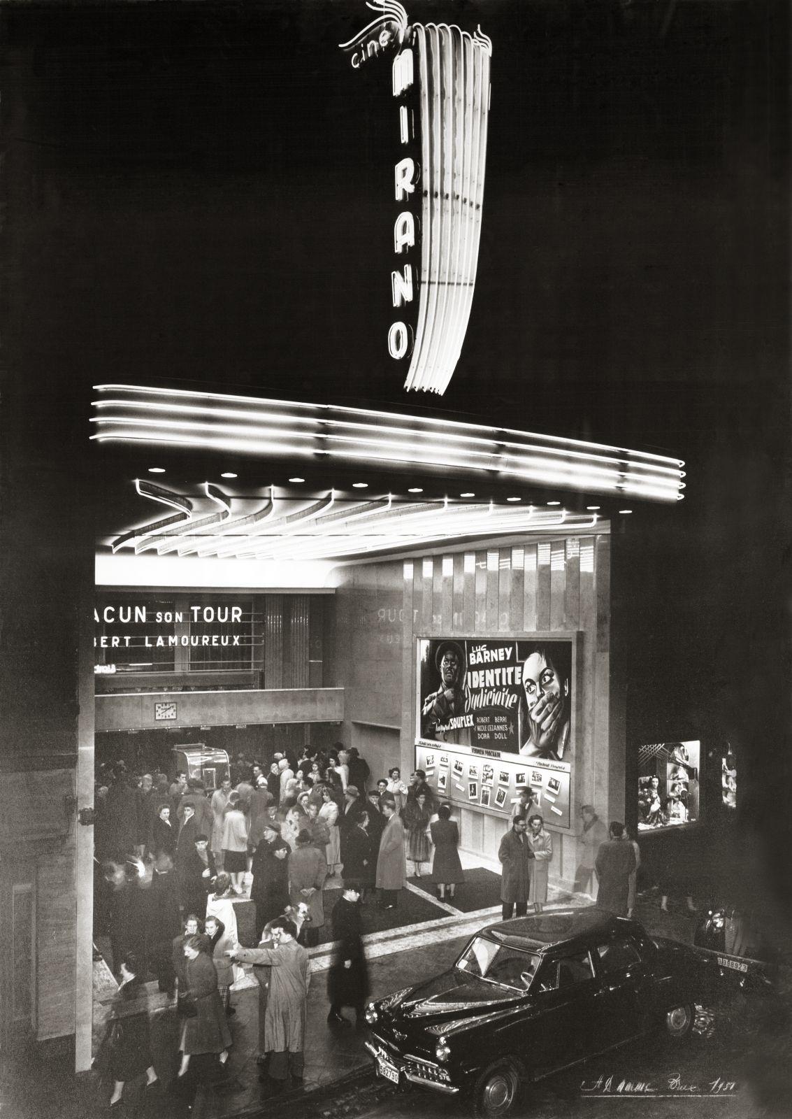 Chaussée de Louvain 38-40, anc. cinéma Mirano (collection Mirano, photo d'époque).