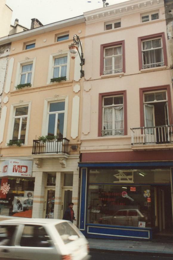 Chaussée de Louvain, 72-74 et 76 (photo 1993-1995).