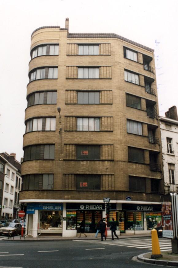 Chaussée de Louvain 78-88 et rue Marie-Thérèse 110-114 (photo 1993-1995).