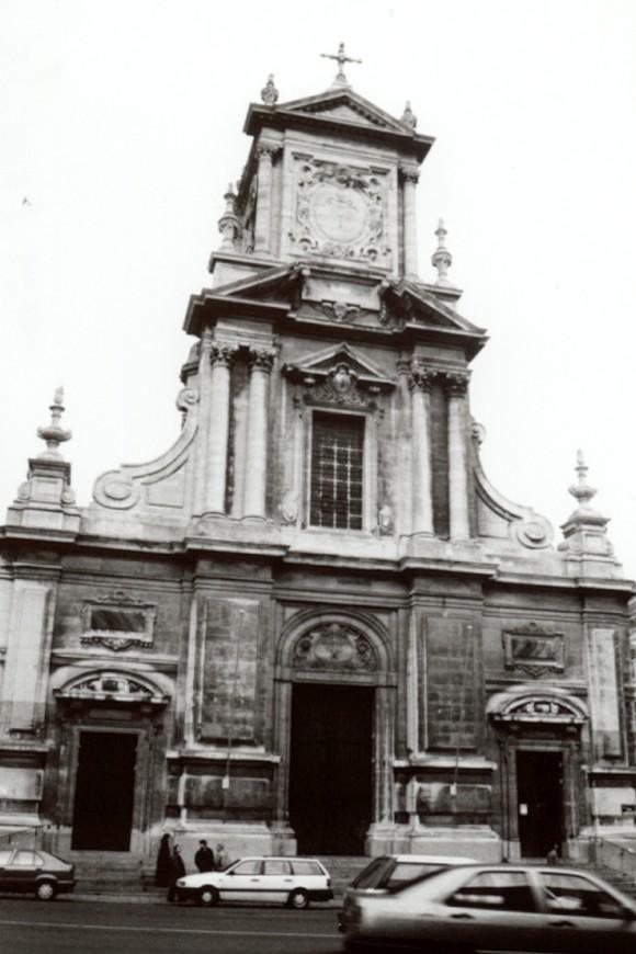 Chaussée de Louvain 99, église paroissale Saint-Josse (photo 1993-1995).