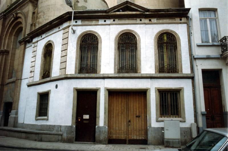Rue Saint-Josse 62, annexe de l'église Saint-Josse (photo 1993-1995).