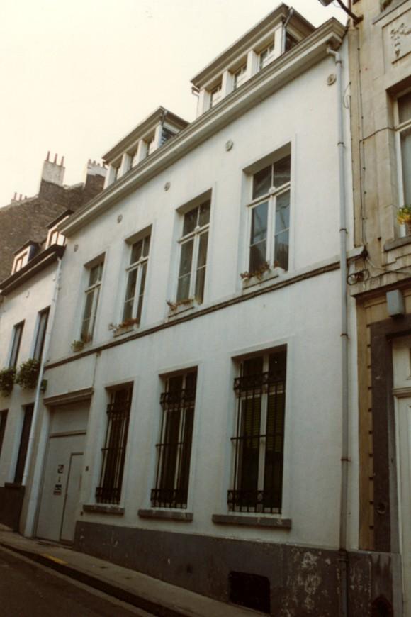 Rue du Marteau 26 (photo 1993-1995).