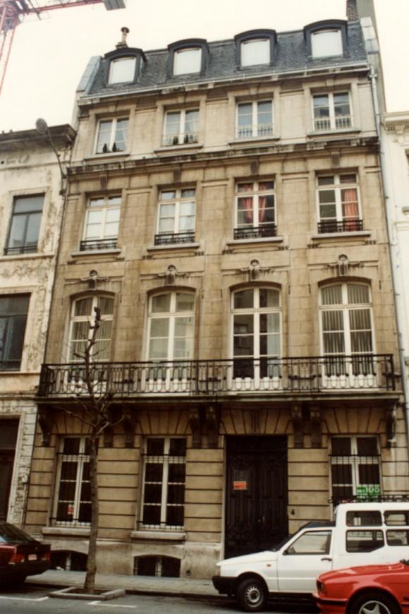 Rue du Méridien 6 (photo 1993-1995).
