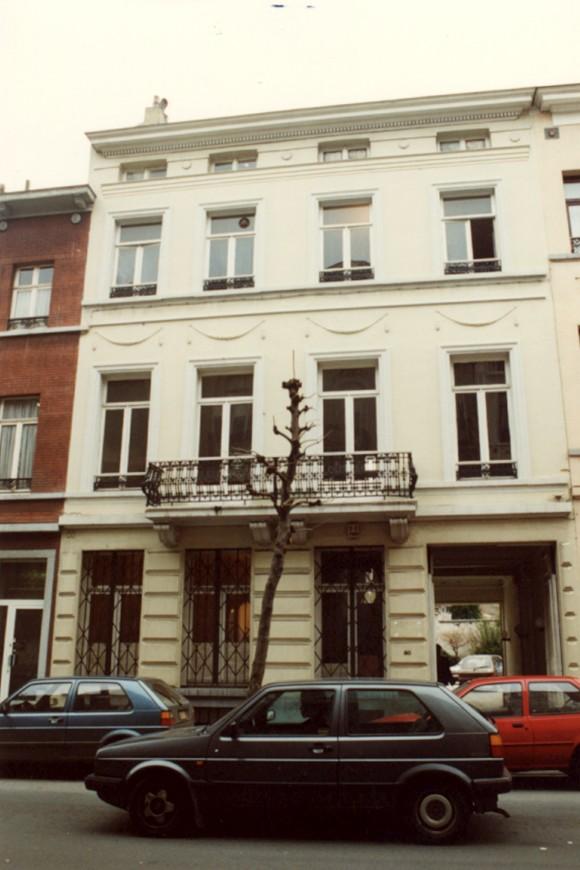 Rue du Méridien 30 (photo 1993-1995).