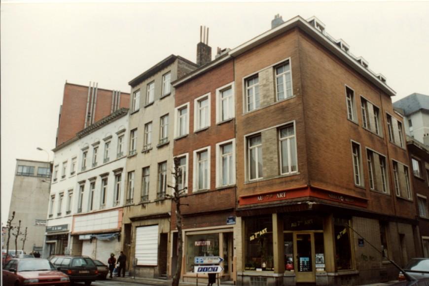 Rue du Méridien 86, 2e maison en partant de la gauche (photo 1993-1995).