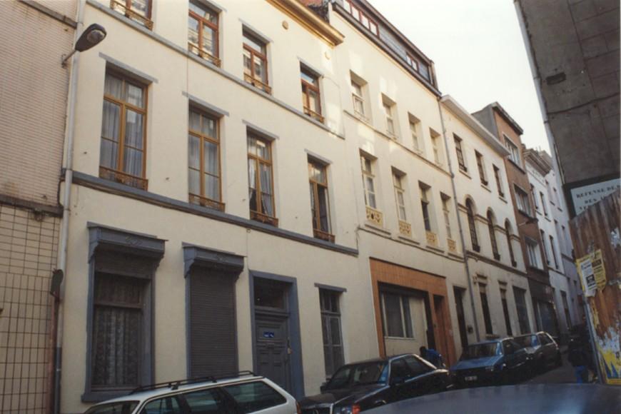 Rue du Moulin 68, 70 et 72 (photo 1993-1995).