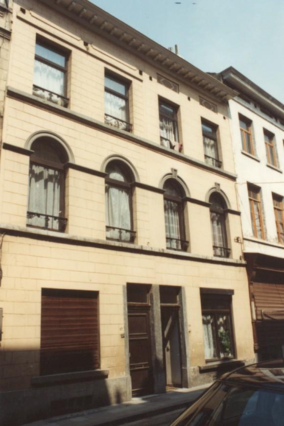 Rue de la Poste 17 et 19 (photo 1993-1995).