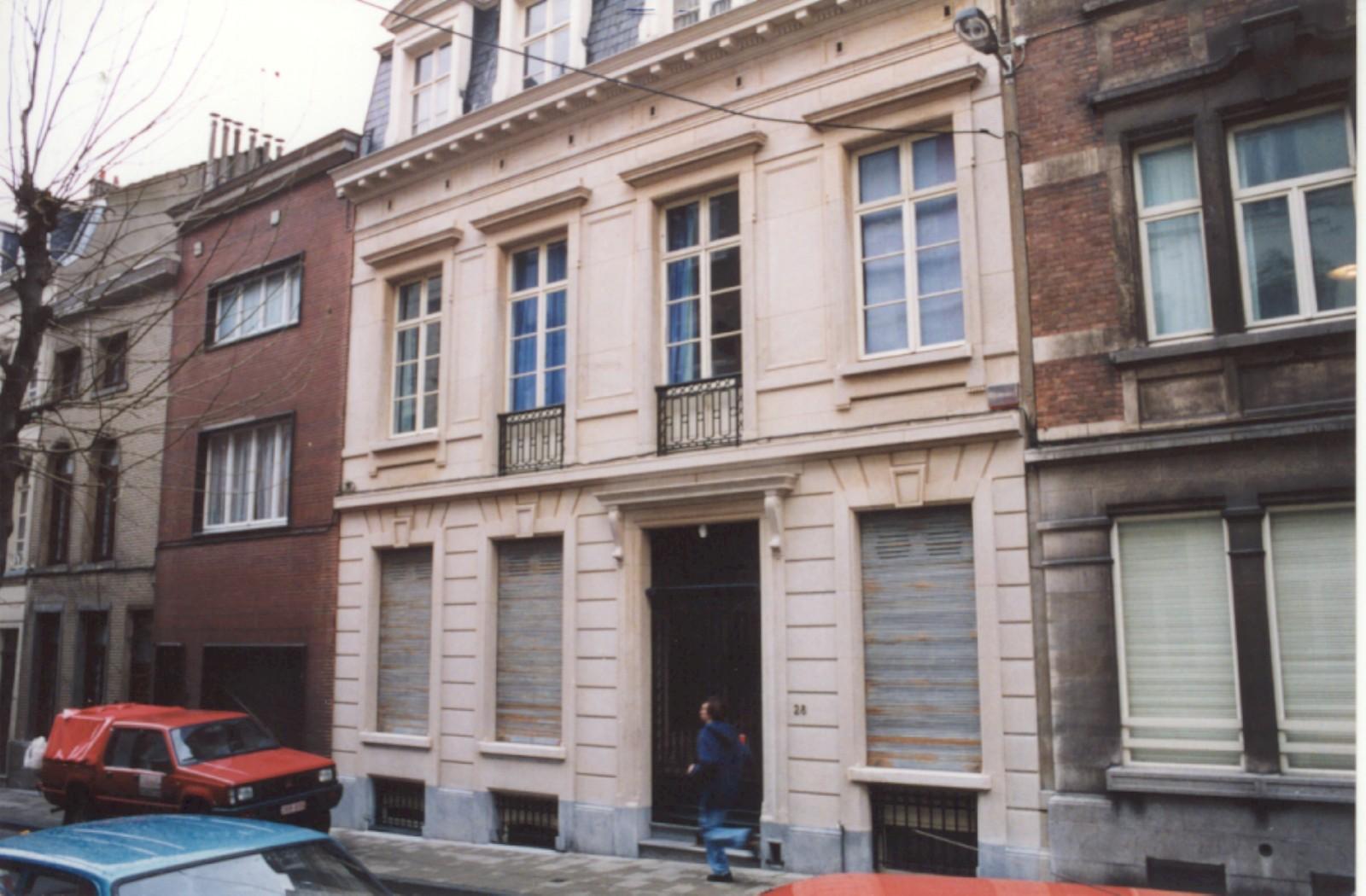 Rue Potagère 28 (photo 1993-1995).