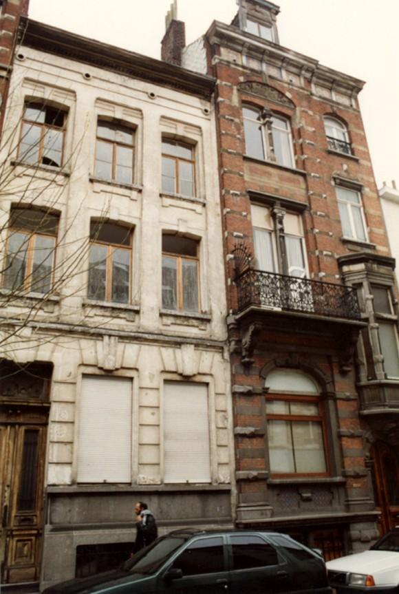 Rue Potagère 57 et 59 (photo 1993-1995).