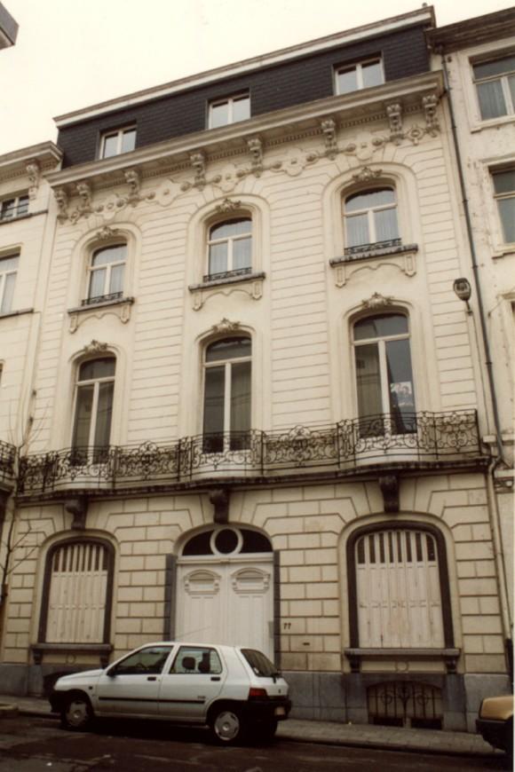 Rue Potagère 77 (photo 1993-1995).