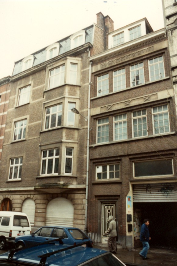 Rue Potagère 155 et 157 (photo 1993-1995).