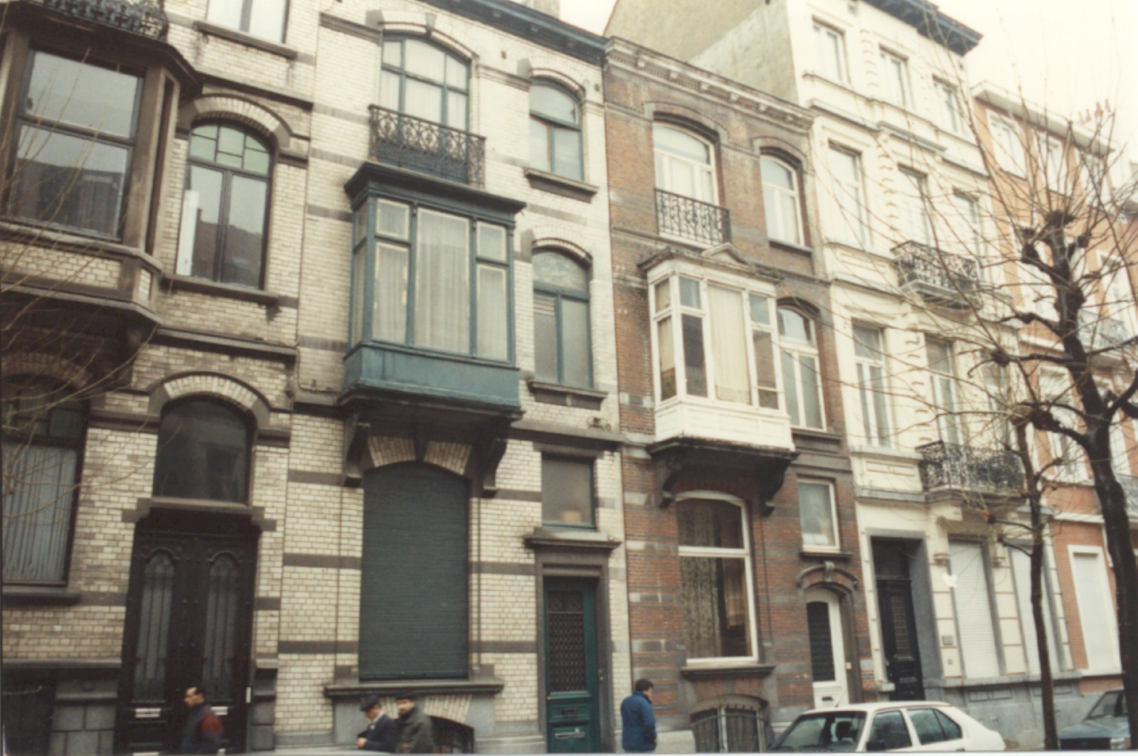 Rue Potagère 161 et 163 (photo 1993-1995).