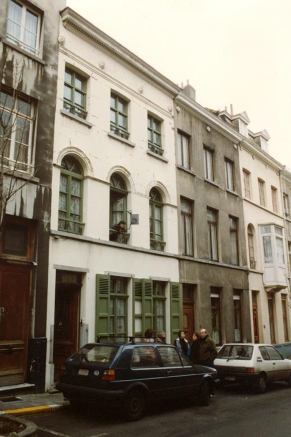 Rue Saint-Alphonse 37, 35 et 33 (photo 1993-1995).