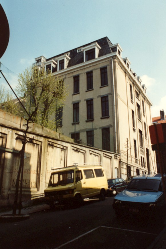 Rue des Secours 39, école primaire Saint-Gabriel (photo 1993-1995).