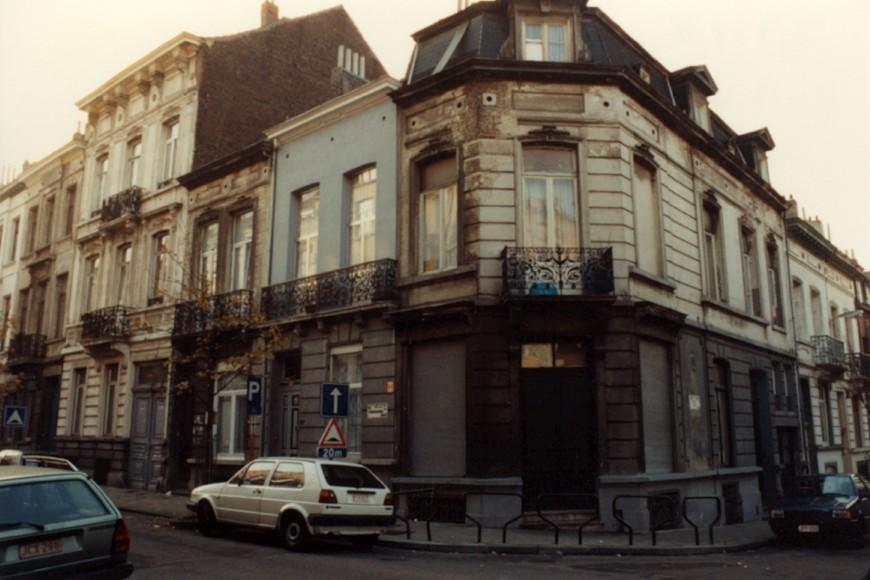 Rue du Soleil 26 et rue Verboeckhaven 65 et 67 (photo 1993-1995).