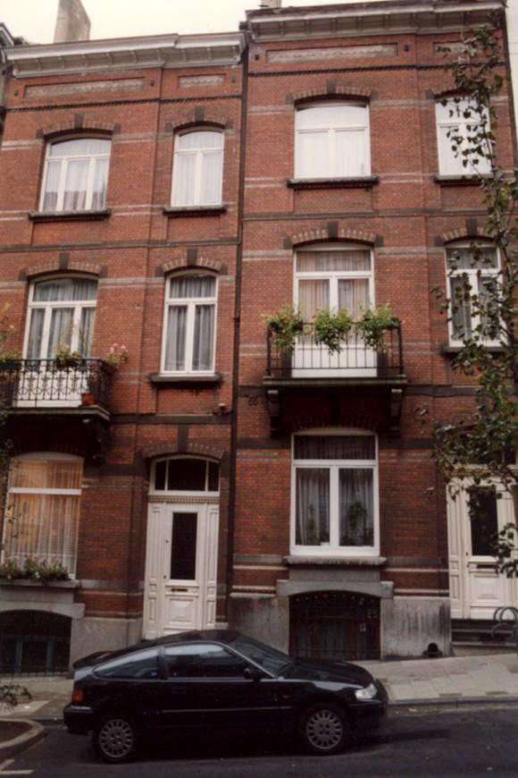 Tiberghienstraat 6 en 8., 1993