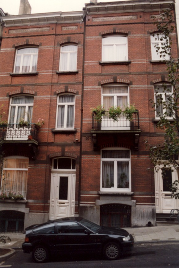 Rue Tiberghien 6 et 8., 1993