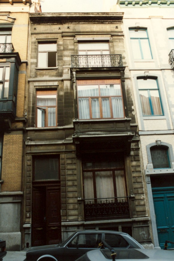 Rue Tiberghien 9 (photo 1993-1995).