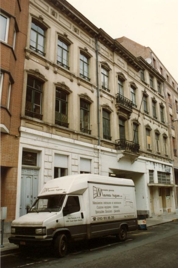 Rue du Vallon 6, 8 et 10 (photo 1993-1995).