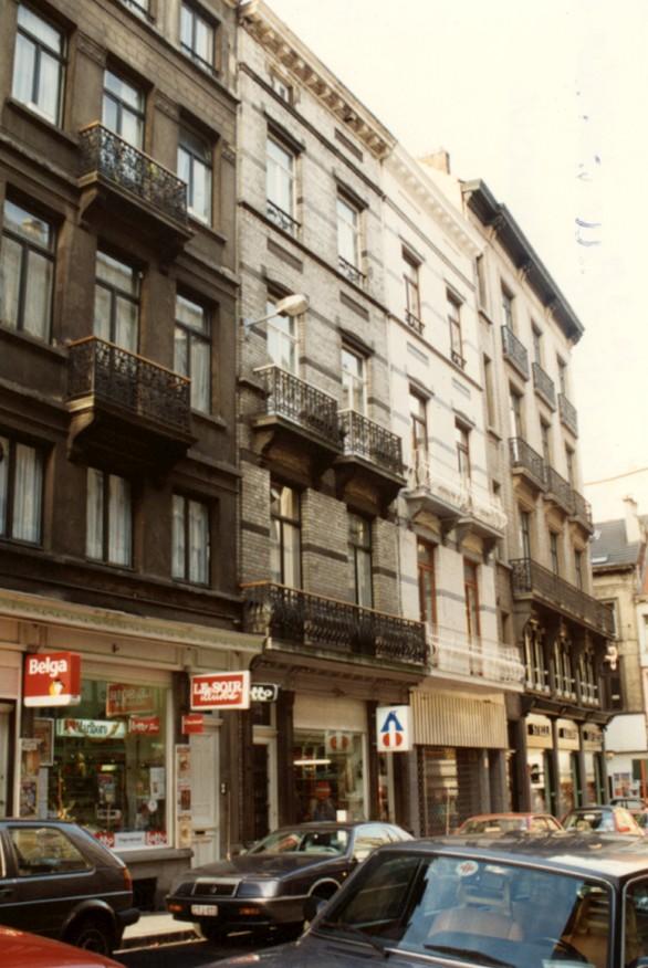 Rue du Vallon 32 à 44 (photo 1993-1995).