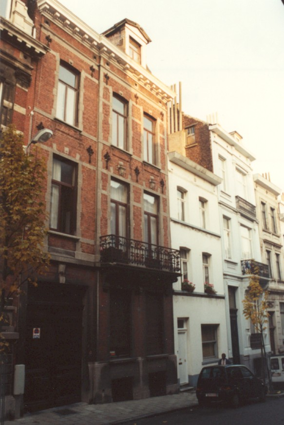 Rue Van Bemmel 5 (photo 1993-1995).