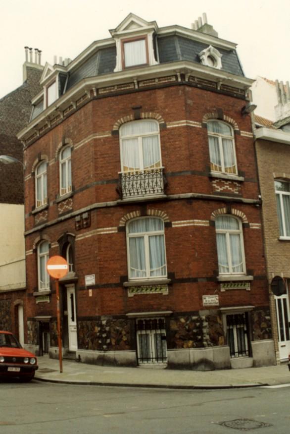 Rue Vanderhoeven 24 (photo 1993-1995).