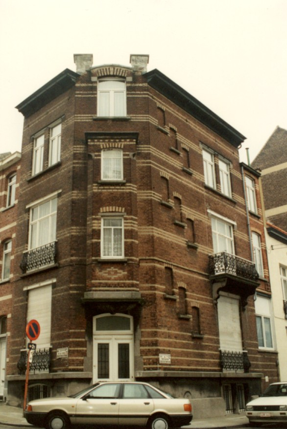 Rue Vanderhoeven 27 (photo 1993-1995).
