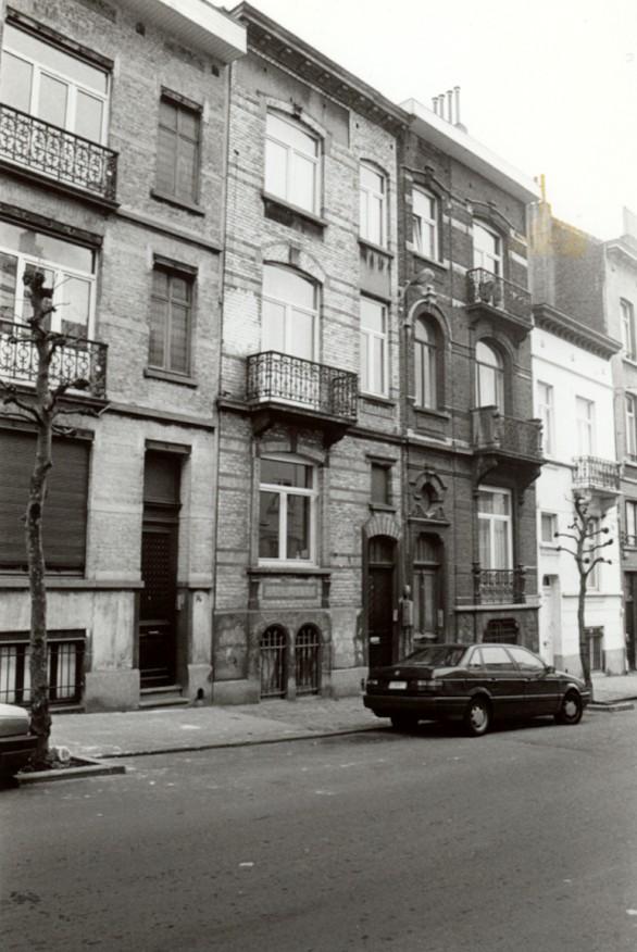Rue Verbist 70 et 72 (photo 1993-1995).