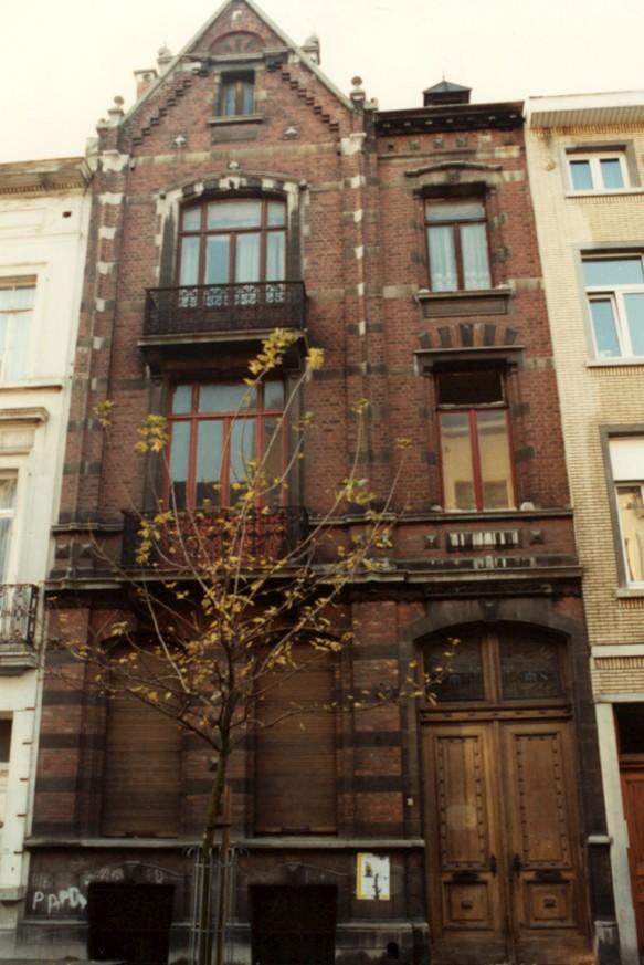 Rue Verboeckhaven 35 (photo 1993-1995).