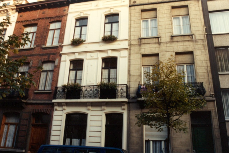 Rue Verboeckhaven 56 (photo 1993-1995).