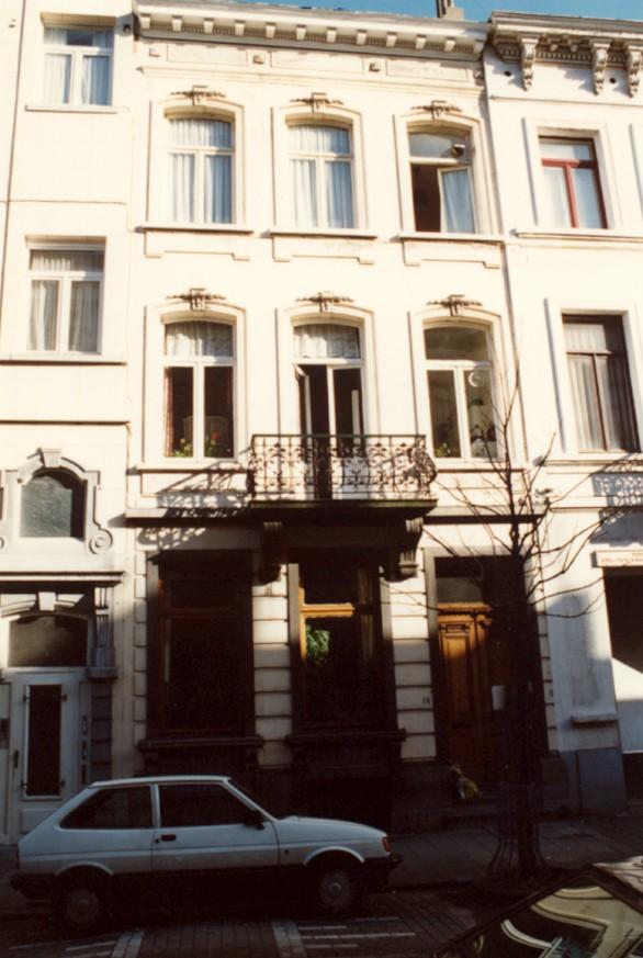 Rue Verboeckhaven 64 (photo 1993-1995).