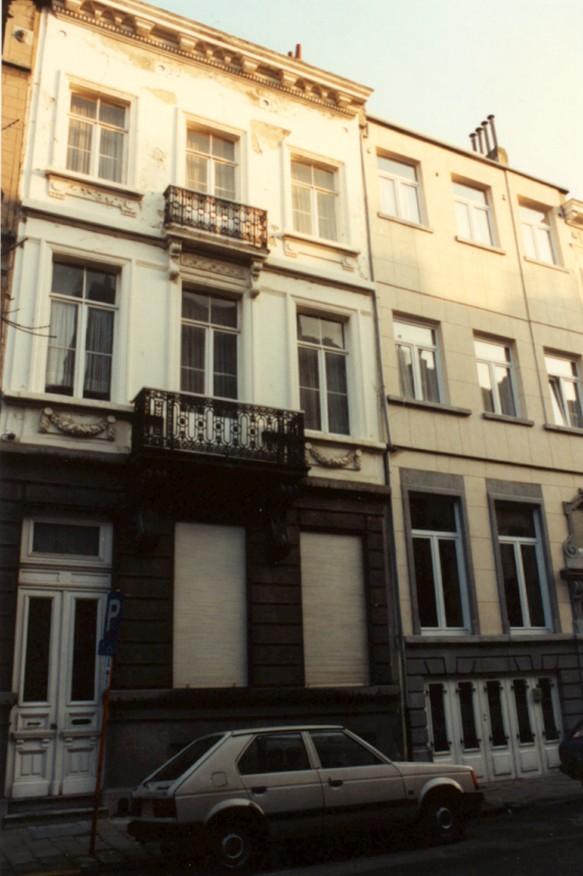 Rue Verboeckhaven 68 (photo 1993-1995).