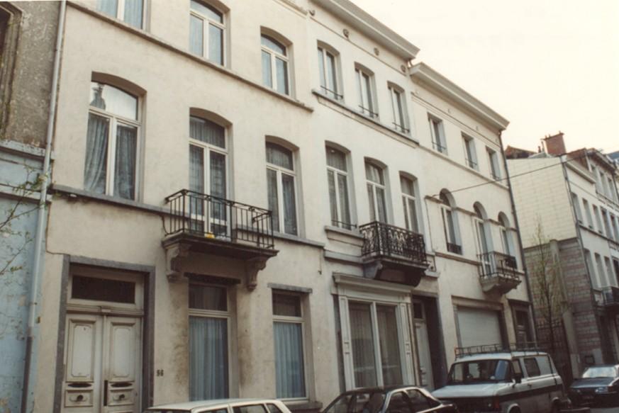 Rue Verte 54 et 56 (photo 1993-1995).
