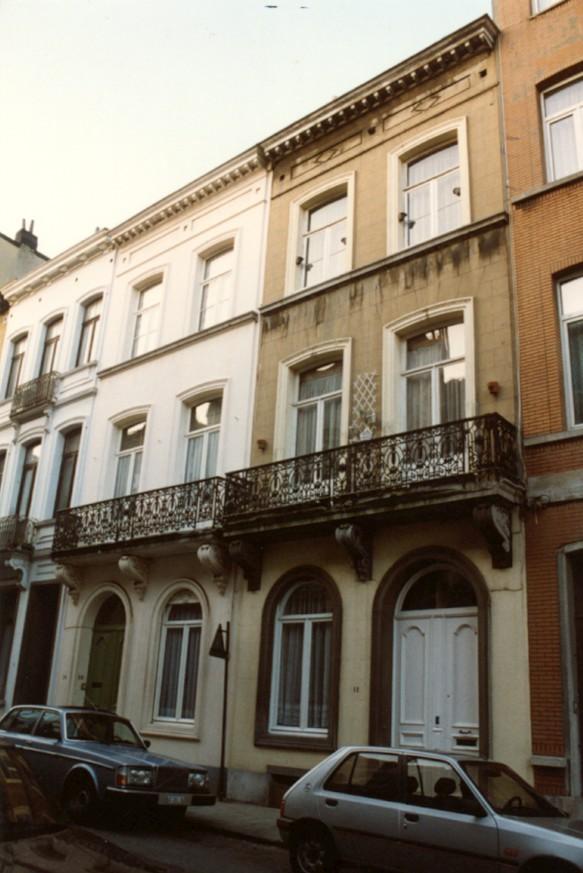 Verviersstraat 10 en 12 (foto 1993-1995).