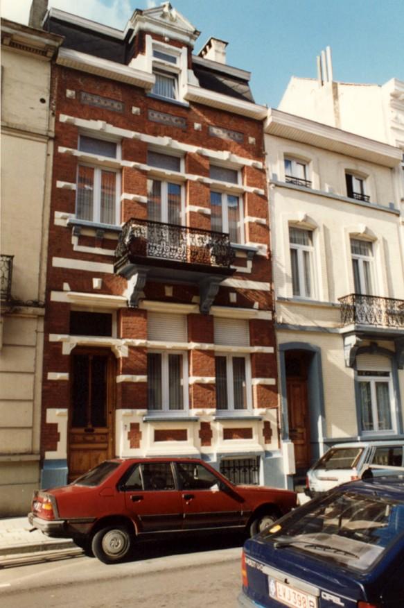 Rue Vonck 7 (photo 1993-1995).