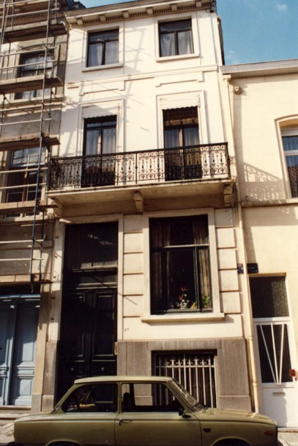 Rue Vonck 57 (photo 1993-1995).