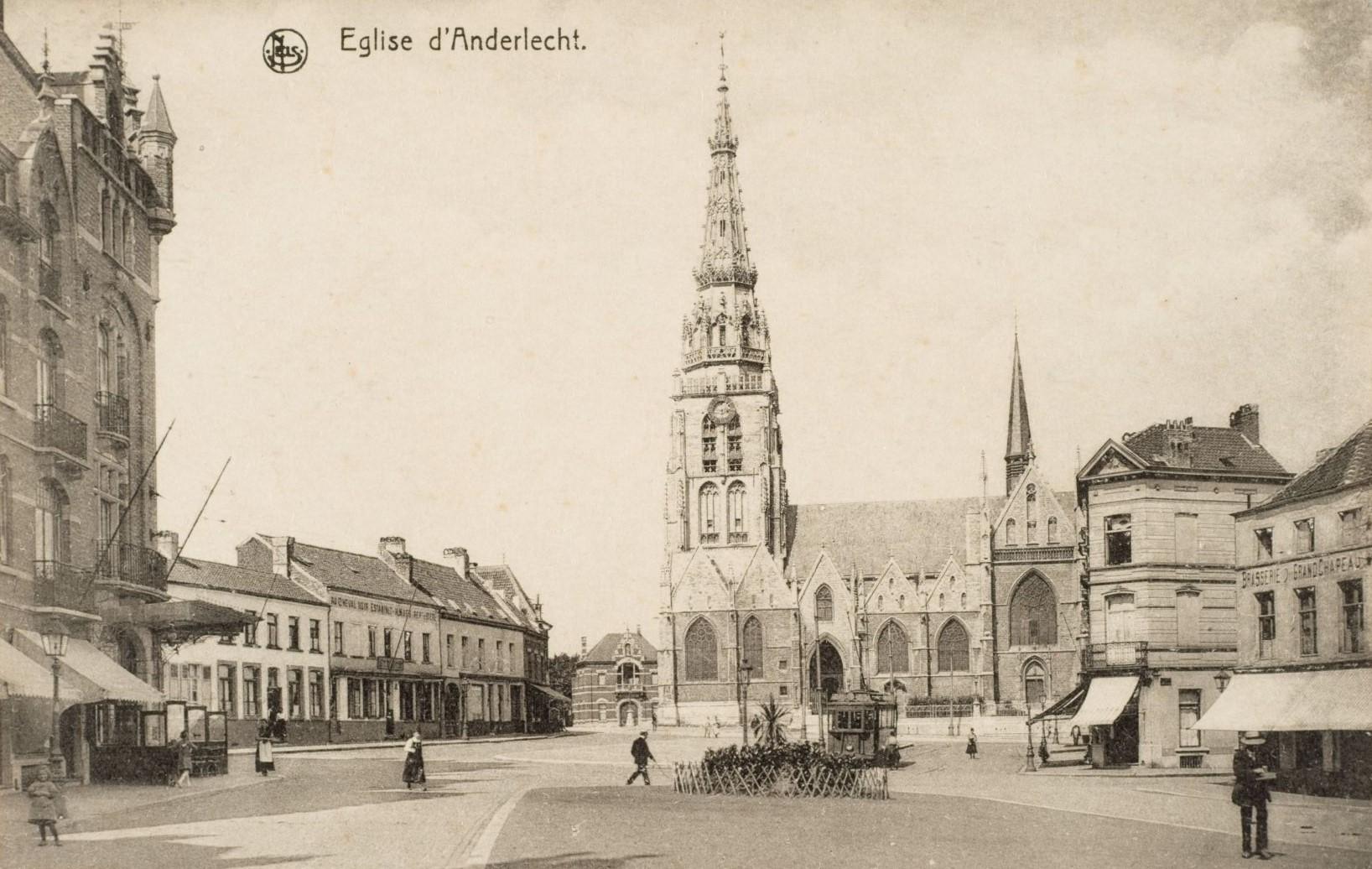 Sint-Guidokerk te Anderlecht (verz. Belfius Bank © RAB-MBHG).