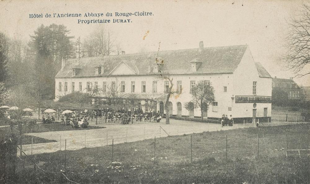 Voormalige Abdij van het Rood klooster (Verzameling Belfius Bank-Académie royale de Belgique © ARB – urban.brussels, DE31_141)