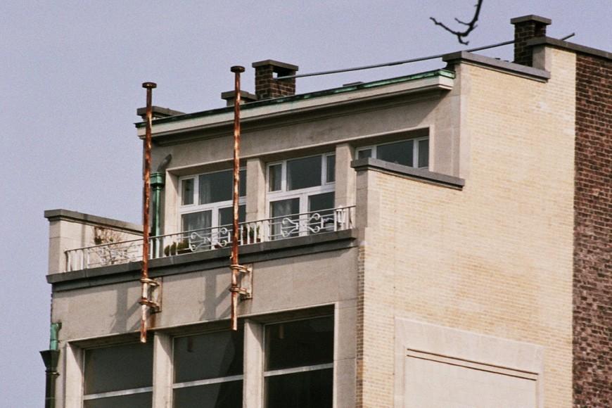 Etage-attique, Bains de Bruxelles, rue du Chevreuil 28, Bruxelles, 1949, architecte M. Van Nieuwenhuyse., 2005