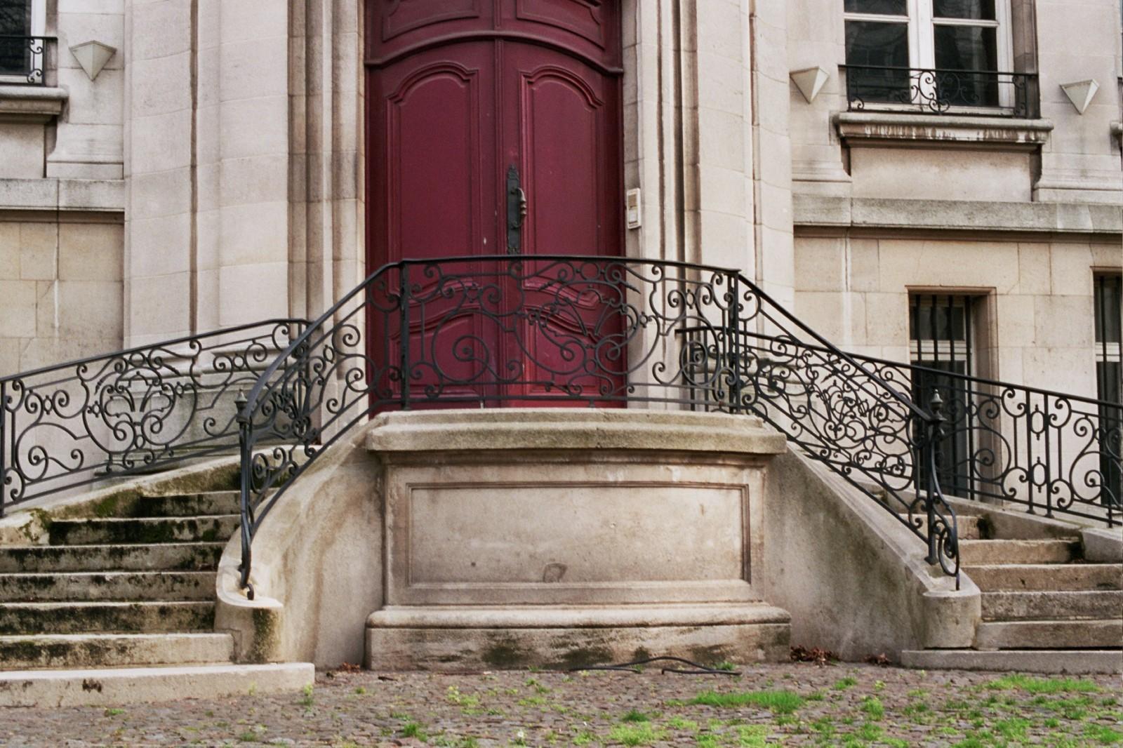 Toegangsbordes, \'Hôtel Vaxelaire\', Sterrenkundelaan 9, Sint-Joost-ten-Node, 1916, toegeschreven aan arch. L. Sauvage., 2005